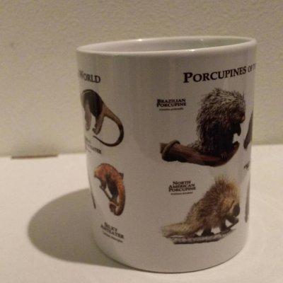 画像2: オリジナルマグカップ(アリクイ&ヤマアラシ)